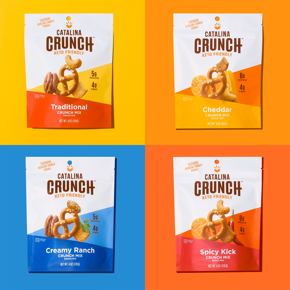 Catalina Crunch Expands Into Savory Snacks, Launches Packaging Refresh