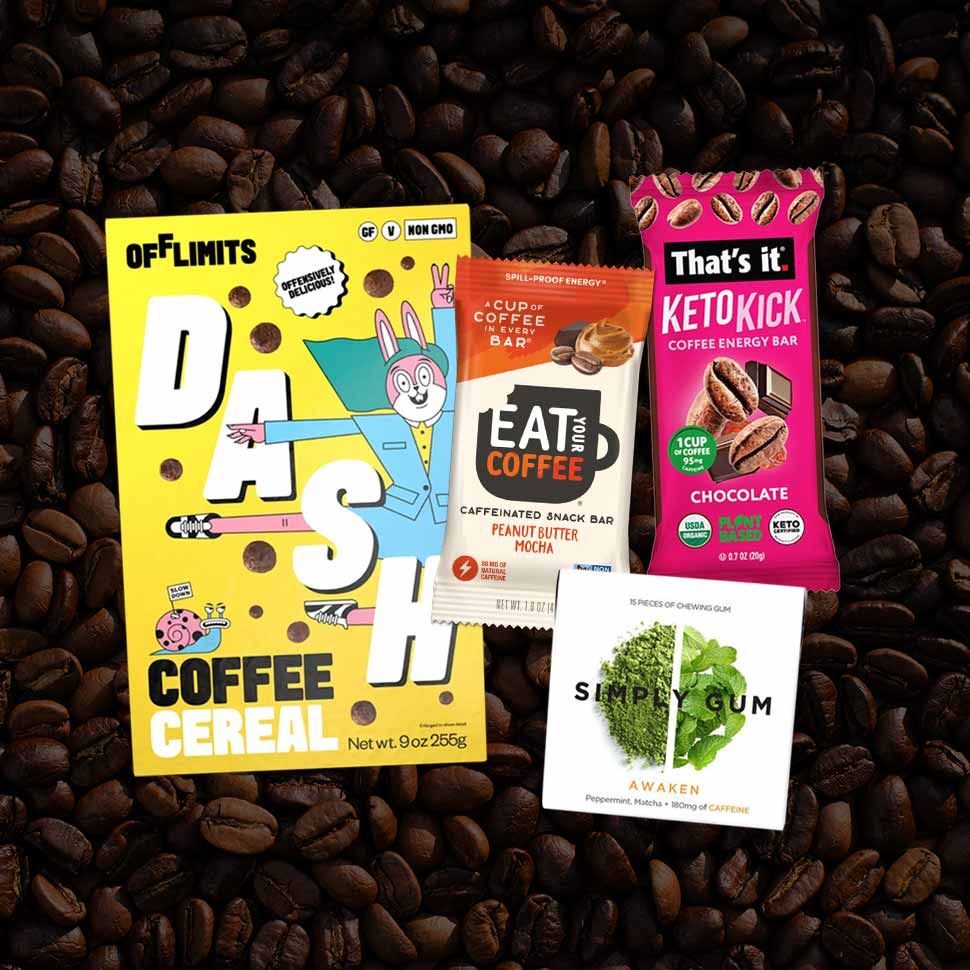 Brands Energize Offerings With Caffeinated Product Launches